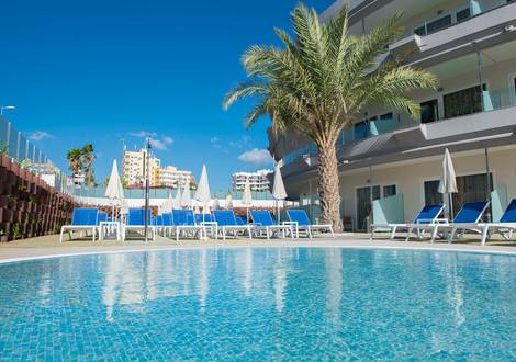 SWIMMING POOL Hôtel HL Suitehotel Playa del Ingles**** Gran Canaria