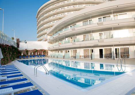 SEMIOLIMPIC SWIMMING POOL Hôtel HL Suitehotel Playa del Ingles**** Gran Canaria